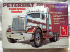 "VINTAGE 1/25 PETERBILT "" 359 CALIFORNIA HAULER "" AMT 1970'S T501 STARTED SEE PIC"