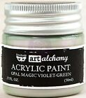 Finnabair Prima ART ALCHEMY OPAL MAGIC Acrylic Paint 1.7 oz CHOOSE from 8 Colors