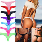 Bikini Women Brazilian Cheeky Bottom Thong V Swimwear Swimsuit Bikini Bottoms FO