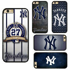 MLB New York Yankees NYY Plastic Hard Phone Case Cover Fits For iPhone Samsung