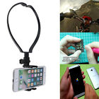 Phone Video Selfie Neck Band Collar Handsfree Stand Mount For Youtuber Blogger