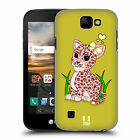 HEAD CASE DESIGNS ADORABLE LITTLE WILD HARD BACK CASE FOR LG K3