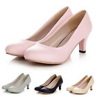 idomcats WOMENS LADIES LOW MID HEEL MARY JANE PARTY COURT SHOES PUMPS SIZE 11-0