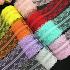 Kyпить 10yards 40mm Bilateral Handicrafts Embroidered Net Lace Trim Ribbon Bow Crafts на еВаy.соm