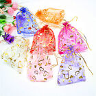 25PCS Organza Jewelry Candy Gift Pouch Bags Wedding Party Xmas Favors Decor Chic