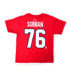 P.K. Subban Montreal Canadiens Player Junior T-shirt $10.54 USD on eBay