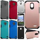 For Zte Allstar / Stratos HARD Astronoot Hybrid Rubber Silicone Case Phone Cover