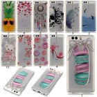 Clear Rubber Pattern Ultra-thin Soft Silicone TPU Gel Back Case Cover For Phones