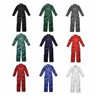Dickies WD4839 Mens/Adult Redhawk Zip Front Work Overalls/Coverall/Boiler Suit