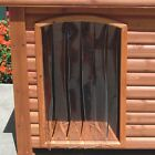 Precision Pet Products Outback Dog House Door in Clear