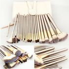 AU 18/24pcs Makeup Brush Set Kit Beauty Tool Eyebrow Shadow Foundation Brush Bag