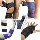Sports Knee Elbow Ankle Wrist Hand Braces Support Wrap Bandage Compression Strap
