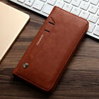 Unique Luxury Flip Leather Men's Wallet Card Slots Stand Case Cover For iPhone