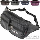 Mens / Ladies Sleek Nylon / Canvas Style Bumbag / Waist Pack
