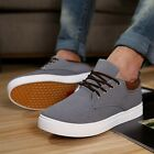 Nerw Fashion Men's England Style Sneakers Casual Canvas Height increasing Shoes
