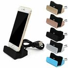 Desktop Charger Charging Dock Station Cradle w/Cable for Apple iPhone 6 6s 7Plus