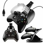 Dual USB Controller Charger Dock Station+Cooler Cooling Fan Microsoft XBOX One