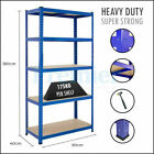 METAL RACKING 5 TIER SHELVING INDUSTRIAL GARAGE WAREHOUSE STORAGE BOLTLESS SHELF