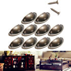 12PCS Antique Retro Kitchen Cupboard Door Cabinet Knob Drawer Shell Pull Handle