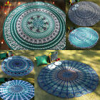 Round Tapestry Beach Towel Yoga Mat Indian Mandala Throw Tablecloth Home Decor