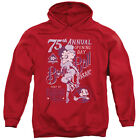 Betty Boop Boop Ball Mens Pullover Hoodie Red $45.75 USD