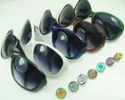 Unisex life Outdoor Sunglasses fit DIY Chunks Snap Button charm Wholesale gift
