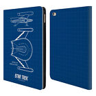 OFFICIAL STAR TREK SHIPS OF THE LINE TOS LEATHER BOOK WALLET CASE FOR APPLE iPAD