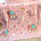 """Little Twin Stars Pink 40""""x 38"""" Plush Coral Fleece Blanket For Baby TS67"""