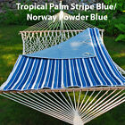Algoma Net Reversible Quilted Hammock Pad - Tropical Palm, New