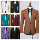 Brand Mens Suit Jacket One Button Formal Mens Dress Jacket Wedding Quality Gift