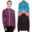 Trespass Saskia Womens Full Zip Jumper in Black Green Purple & Navy