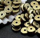 TierraCast Heishi Disk Beads, 8mm Spacers , Antiqued Brass, 20 to 100 Pcs, 4427