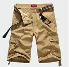 Men's Casual Baggy Comfortable leisure  Overall Shorts