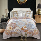 Quilt/Duvet/Doona Cover Set Queen/King Size Long-Staple Cotton Pillow cases Set