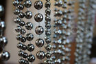 Faux Metallic Ball Chain Curtains 6 Feet length Many colors