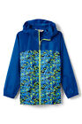 LANDS' END Little Boys' 4, 5/6, 7 Persian Cobalt Navigator Rain Jacket NWT