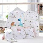 New5pc Cotton Newborn Baby clothes Sets 0-3 Month boys girls sleepwear Pants