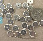 TierraCast Heishi Disk Beads, 8mm Spacers , Antiqued Silver, 20 to 100 Pcs, 4427