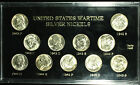 A Collection of  (11) Jefferson War Nickels. 1942 - 1945 PDS Choice BU MS PQ War