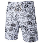 Men's Fashion Quick-drying Sport Surf Board shorts Floral Short Beach Swim New