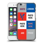 CUSTOM PERSONALISED CRYSTAL PALACE FC 2016/17 BACK CASE FOR APPLE iPHONE PHONES