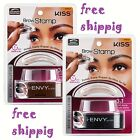 KISS BROW STAMP POWDER DELICATE / NATURAL SHAPE PERFECT EYEBROW BROWN / BLACK