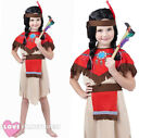 GIRLS NATIVE INDIAN FANCY DRESS WILD WEST SCHOOL CURRICULUM BOOK DAY COSTUME