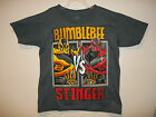 "Buy ""TRANSFORMERS SHORT SLEEVE  ""Bumblebee vs Stinger"" GRAPHIC SHIRT T-SHIRT (gray)"" on EBAY"