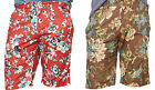 Polo Ralph Lauren Denim & Supply Mens Floral Red Brown Poplin Slim Shorts New