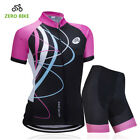 Pro Cycling Clothes Women Cycling Jersey Short Set Short Sleeve Cyling Clothing