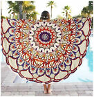 Outdoor Round Mandala Indian Hippie Boho Tapestry