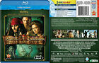 Pirates of the Caribbean - Blu-Ray DVD New Movies 1 2 or 3 choose one Disney