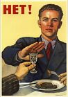 1960's Soviet Union Vodka, Alcohol Abuse Prevention Poster A3/A2 Print