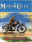 Vintage Matchless Springer Motorcycle Poster A3 A2 A1 Print